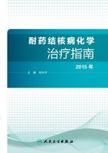 耐药结核病化学治疗指南.2015年